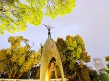 Children's peace monument. In Peace memorial park, Hiroshima, Japan Royalty Free Stock Image