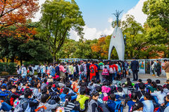 Children's Peace Monument in Hiroshima Stock Image