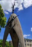 Children`s peace monument in Hiroshima royalty free stock photo