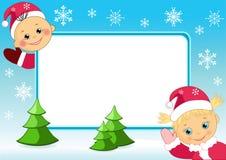 Children's photo framework. Vector  illustration Royalty Free Stock Image