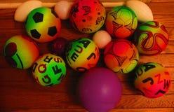 children& x27; s piłki zdjęcie royalty free
