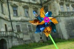 Children's pinwheel Stock Images
