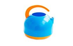 Children's plastic tea maker Royalty Free Stock Photo