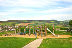 Children's play area outside Royalty Free Stock Photography