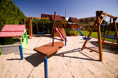 Children's play area Stock Image