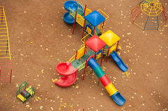 Children's play complex Royalty Free Stock Images