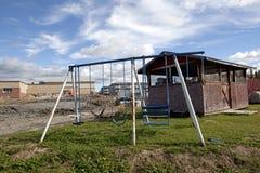 Children's play equipment, Alberta, Canada Royalty Free Stock Image