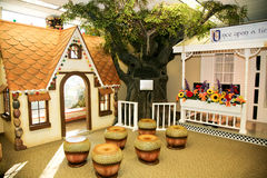 Children's Play House: Gingerbread House Stock Photos