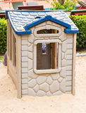 Children's play house in a yard Royalty Free Stock Image