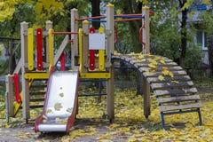 Children`s Playground stock images