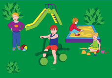 Children's playground Royalty Free Stock Images