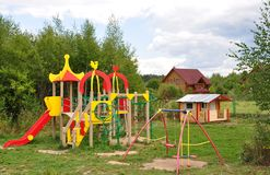 Children's Playground. Stock Image