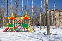 Children's Playground. Royalty Free Stock Photo