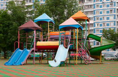 Children's playground. Royalty Free Stock Photo