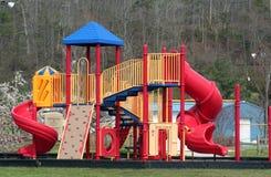 Children's playground. Colorful playground equipment Stock Image