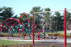Children's Playground in a Brand New Neighborhood Royalty Free Stock Image