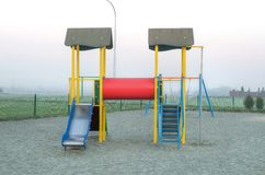 Children`s playground. Stock Photography