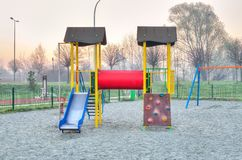 Children`s playground. Stock Image