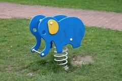 Children´s playground with elephant Stock Photos