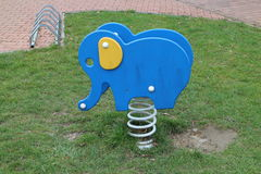 Children´s playground with elephant Stock Photography