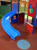 Children's Playground Equipment. Colorful modern,  safe, children's playground equipment Royalty Free Stock Photo