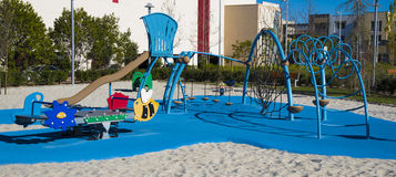 Children's playground equipment Stock Image