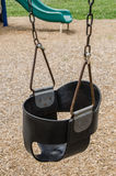 Children's Playground fun todler swing empty Royalty Free Stock Images