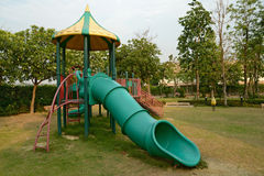 Children's playground leftover in the park Royalty Free Stock Photo