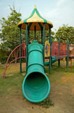 Children's playground leftover in the park Royalty Free Stock Images