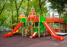 Children`s playground Stock Image