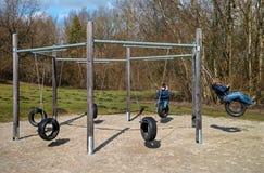 Children s playground Stock Photos