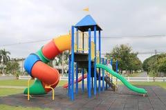 Children's playground at park Stock Image