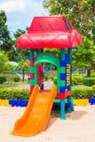 Children' s playground at public park. Children s playground at public park Royalty Free Stock Photos