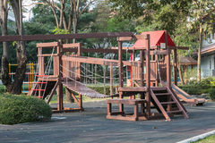 Children's playground. At public park Royalty Free Stock Images