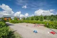 Children's playground. At public park Stock Photo