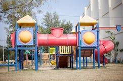 Children's playground at public park. In phuket Royalty Free Stock Image