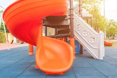A children`s playground. Selective focus Stock Images