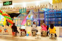 Children's Playground, in Shenzhen, China Royalty Free Stock Photography