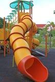 Children's playground slider Stock Image