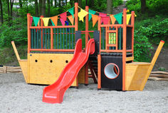 Children's playground and toys Royalty Free Stock Photo