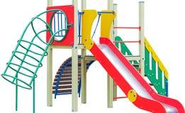Children`s playground. On a white background royalty free stock photos