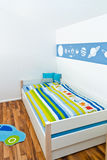 Children's Playroom with bed Royalty Free Stock Images
