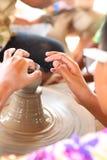 Children's Pottery Stock Photo