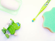 Children's products for washing Stock Images