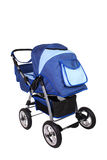 Children's pushchair. Baby carriage, from my objects series Stock Photography