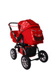 Children's pushchair. Baby carriage, from my objects series Royalty Free Stock Photos