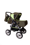 Children's pushchair. Baby carriage, from my objects series Royalty Free Stock Images