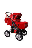 Children's pushchair. Baby carriage, from my objects series Royalty Free Stock Image