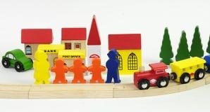 Children's railway station world Royalty Free Stock Photo