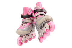 Children's roller skates. Stock Photos